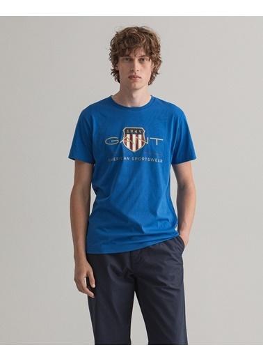 Gant Erkek T-Shirt Mavi